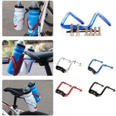 Berapa Harga Bike Bicycle Cycling Seat Post Back Double Water Bottle Holder Cage Rack Adapter Silver Intl Oem Di Tiongkok