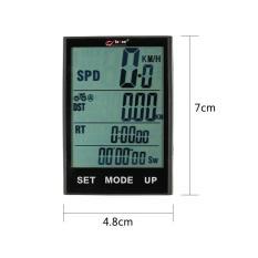 Harga Sepeda Komputer Nirkabel Sepeda Speedometer Odometer Suhu Backlight Tahan Air Untuk Bersepeda Berkuda Multi Fungsi Intl Baru