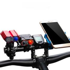Promo Toko Bike Handle Bar Extender T Frame Multi Funtional Cycling Extension Clip Frame Cycling Clip Holder Light Extensions Frame Intl