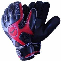 Hitam ukuran 9 Mens Football Buffon Sepak Bola Kiper Olahraga kiper Gloves