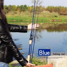 Diskon Blue 2 Section 2 1M Joran Pancing Casting Fishing Rod With An Extra Top Section Bass Fishing Rod Unbrand