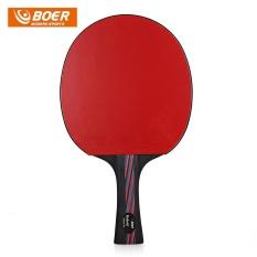 Spesifikasi Boer Tenis Meja Ping Pong Paddle Dengan Tas Penyimpanan Hitam Dan Merah Intl