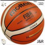 Spesifikasi Bola Basket Molten Gg6X Kulit Free Gas Needle Jaring Merk Oem