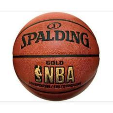 BOLA BASKET SPALDING NBA GOLD INDOOR OUTDOOR