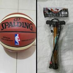 Beli Bola Basket Spalding Nba Kulit Pu Pompa Besi Online Jawa Barat