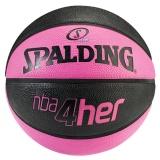 Beli Bola Basket Wanita Spalding Nba 4 Her 4Her Pink Black Pakai Kartu Kredit