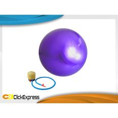 Bola Fitness Yoga Pilates Gym Ball Plus Pompa Angin Manual Promo Beli 1 Gratis 1