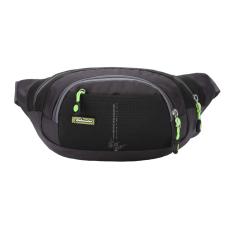 Spesifikasi Bolehdeals For Di Luar Ruangan Nilon Tas Pinggang Sport Saku Perjalanan Ransel Tas Dada Hitam Internasional Bagus
