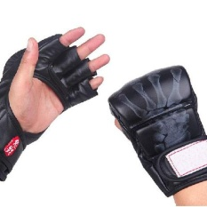 Boxing Fight Gloves Sparring Grappling UFC Mitts MMA Training Mitt Fighting Kick Sports Gloves - intl