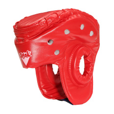 Spesifikasi Boxing Punch Head Guard Helmet Kick Taekwondo Martial Arts Mma Face Protector Red S Murah