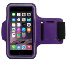 Toko Laki Laki Dan Gadis Olahraga Lengan Paket Untuk Iphone5 5 S 4 Ponsel Arm Bag Band Ungu Intl Termurah