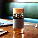 Harga Bebas Bpa Botol Air Minum Gelas Cangkir Filter Teh Infuser Lengan Rami 400 Ml Coklat Internasional Di Indonesia