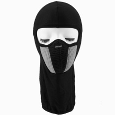 Breathable Dustproof Cotton Motor Cycling Helmet Balaclava Full Face Mask Grey Intl Tiongkok