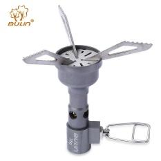 Spesifikasi Bulin Outdoor Hiking Camping Portable Titanium Alloy Kompor Deep Gray Intl Murah