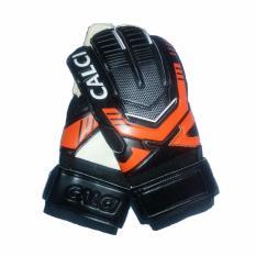 Obral Calci Sarung Tangan Kiper Barca Gk Goalkeeper Gloves Black Orange Murah