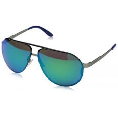 Carrera CA90S Aviator Sunglasses, Matte Ruthenium, 65 mm - intl