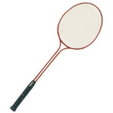 Champion Sports Double Steel Frame Badminton Racket - intl