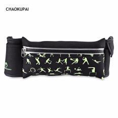 Beli Chaokupai Ritsleting Tahan Air Strip Reflektif Headphone Jack Olahraga Pinggang Bag Intl Oem Asli