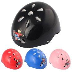 Toko Children Cartoon Skating Helmets Protect Against Bicycle Helmets Black Intl Online