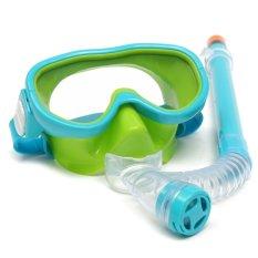 Kualitas Children Berenang Topeng Peralatan Menyelam Anti Kabut Kacamata Semi Kering Snorkeling Set Not Specified