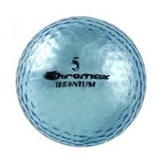 Chromax Visibilitas Tinggi M1x Bola Golf 6-Pack, Biru-Intl