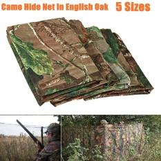 Jelas Camo Army Net Menyembunyikan Kelambu Pigeon Cover Berburu Shooting Hutan Baru (1.5 M * 1 M) -Intl