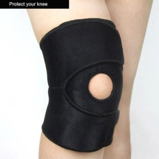 Clearance Sale Astar New 2 Pcs Knee Compression Sleeve Open Patella Kneecap Coverage Black Intl Promo Beli 1 Gratis 1