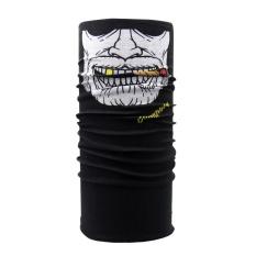 Clown Bersepeda Motor Leher Tabung Syal Ski Wajah Topeng Balaclava Halloween Partai-Intl
