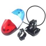Harga Cocotina Bersepeda Sepeda Naik Sepeda Aksesoris 4 Suara 6 Led Lampu Listrik Tanduk Bell Aneka Warna Paling Murah
