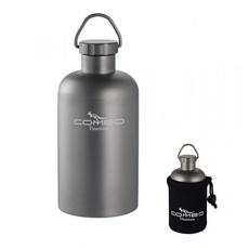 COMBO Ringan Titanium Botol Air, 14-OZ Hydro Travel-Mug Super Kuat dengan