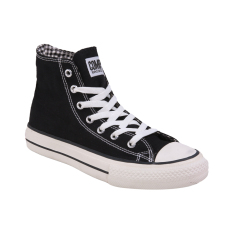 Diskon Compass Kg 031 Hi Cut Sneakers Black Chequer Branded