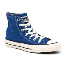 Harga Compass Kg 031 Hi Cut Sneakers Blue Chequer Murah
