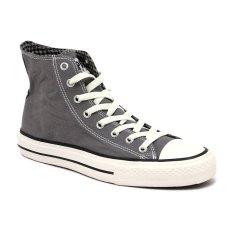 Jual Beli Compass Kg 031 Hi Cut Sneakers Grey Chequer Baru Jawa Barat