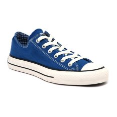 Compass Kg 032 Low Cut Sneakers Blue Chequer Promo Beli 1 Gratis 1