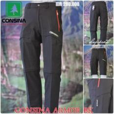 Consina Armor Celana Panjang Pendek 2 In 1 Gunung Outdoor Tactical - 3Cad99