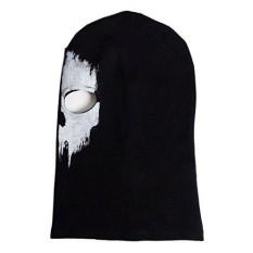 Coofit Call Of Duty 10 Ghosts Logan Misi Terakhir Balaclava Full Face Mask Skull (09)-Intl