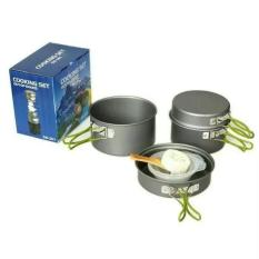 Cooking set ds-301 panci masak camping nesting portable