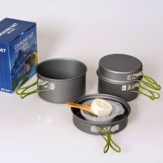 Cooking Set Outdoor Ultralight Ds 301 Cocok Buat Camping Terbaru