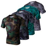 Beli Kamuflase Keren Kompresi Baju Kaus Ketat Berwarna Warni Warna 2015 Internasional Nyicil