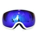 Jual Copozz Gog 207 Big Frame Uv400 Anti Fog Snow Ski Goggles Blue White Intl Lengkap
