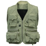 Beli Coromise Men S Multifungsi Handbag Travel Olahraga Fishing Vest Rompi Outdoor L Hijau Intl Pakai Kartu Kredit