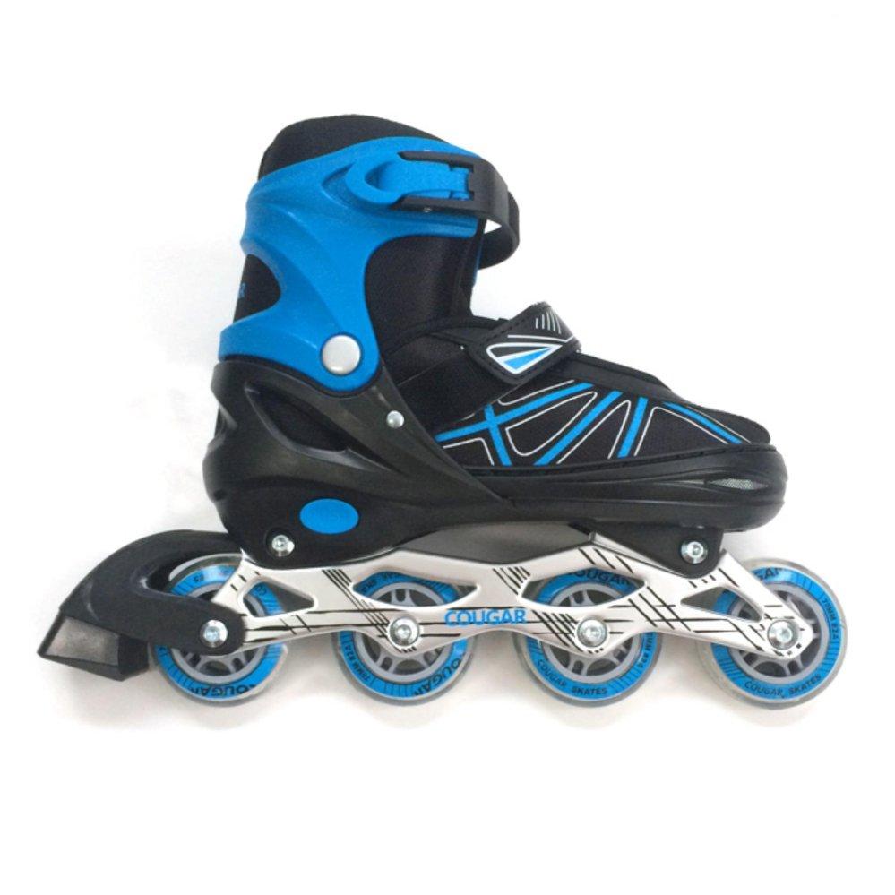 Harga preferensial Cougar Inline Skate Sepatu Roda C1-Blu Size 31-34  terbaik murah cefd1edeff