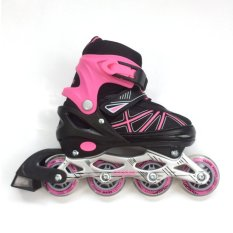 Cougar Inline Skate Sepatu Roda C1- Pink Size 31-34 b917b417b9