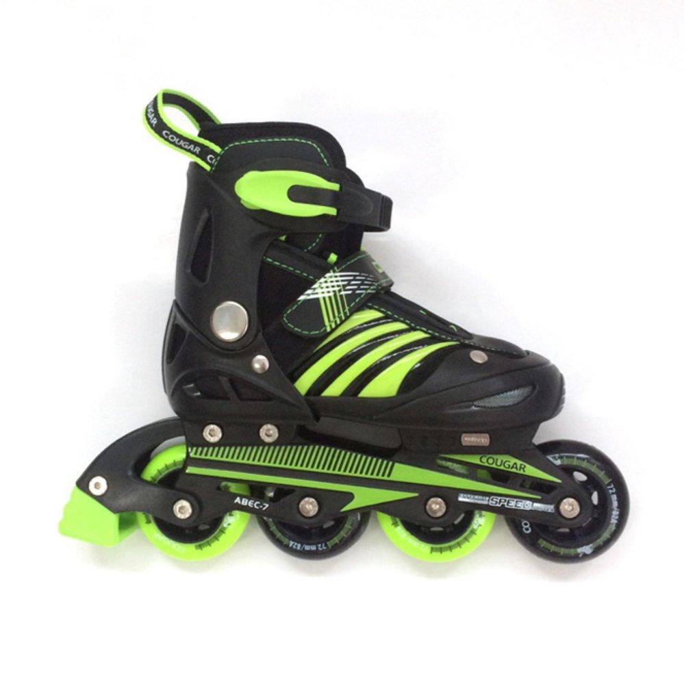 Harga preferensial Cougar Inline Skate Sepatu Roda MZS68FB - Bk GR Size  34-37 894c31bf00