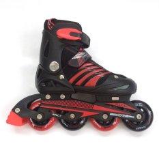 Cougar Inline Skate Sepatu Roda MZS68FB - Bk/RD Size 34-37