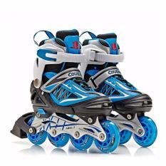 Cougar MZS851 Sepatu Roda Inline Skate - Blue Black Size M