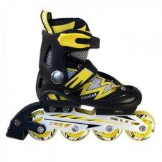 Cougar Sepatu Roda MS835L Hitam-Kuning