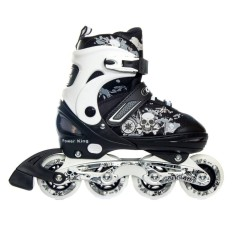 Cougar Sepatu Roda Recreational Inline Skate Power King - Black   White 0057f9e99a