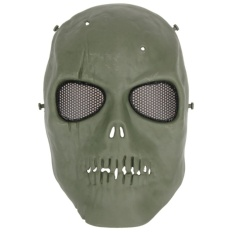 Creepy Horor Hantu Tengkorak Masker untuk CS Paintball Film Partai Cosplay Props-Intl