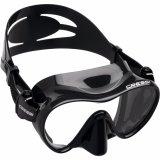 Beli Cressi F1 Hitam Masker Scuba Diving Tanpa Bingkai Kaca Keras Lensa Single Satu Jendela Volume Rendah Masker Snorkeling Renang Online Tiongkok